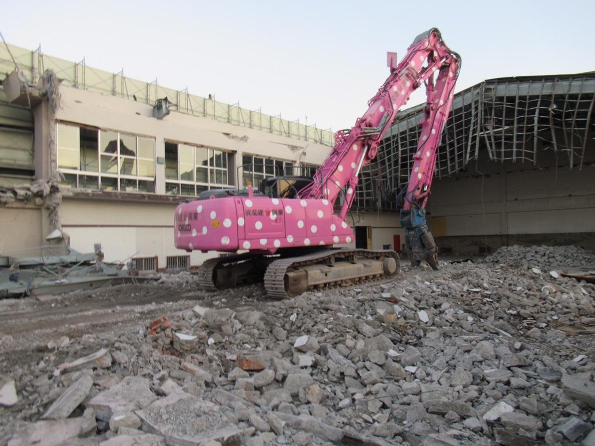 旧赤羽中学校校舎等解体工事